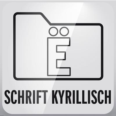 macrosystem-Schriftpakete-Kyrillisch